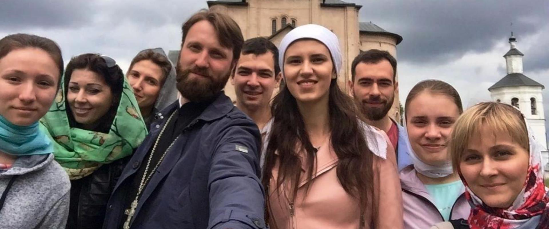 Молодежное православное  паломничество в Сибири